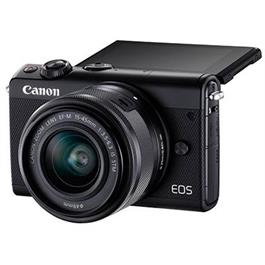 Canon EOS M100 Body With EF-M 15-45mm f/3.5-6.3 IS STM Lens - Black Thumbnail Image 4